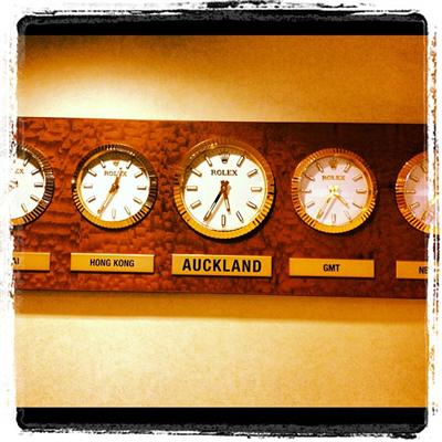 &quot;Catch ya next TIME Auckland!!! #TheLandOfNewZeal&quot; - B.o.B